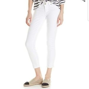 PAIGE Verdugo Crop Denim White Size 25
